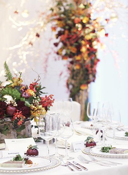 Christmas Event Flowers London LIZ