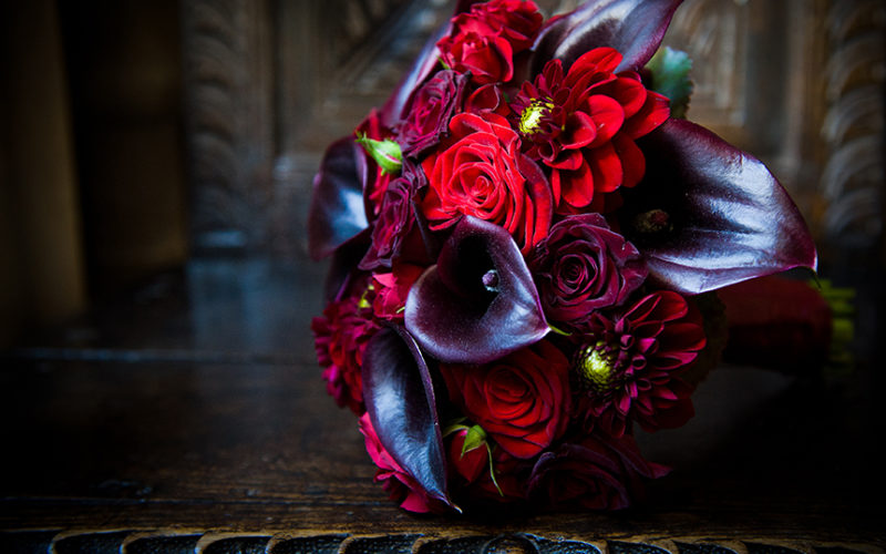 Highclere Castle Wedding Gothic Flowers LIZ