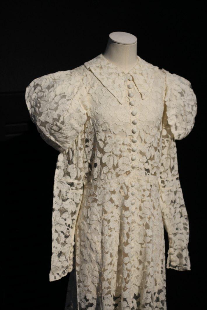Glamorous Night at the Museum Wedding Dress