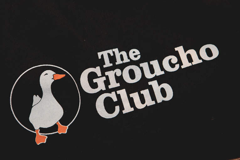 Why the Groucho Club is the best place to break the flower rules