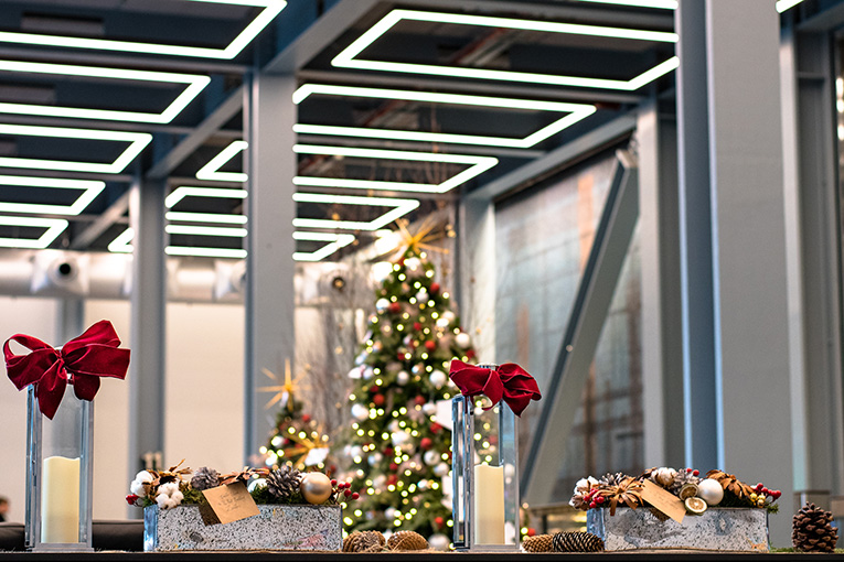 The best place to start when designing Christmas Installations